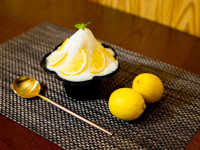 スノーパウダーかき氷 レモン